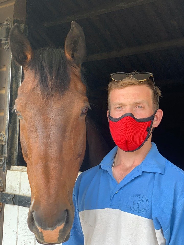 Masks at the stables