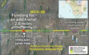 Proposed Everglades 2.6 mile bridge