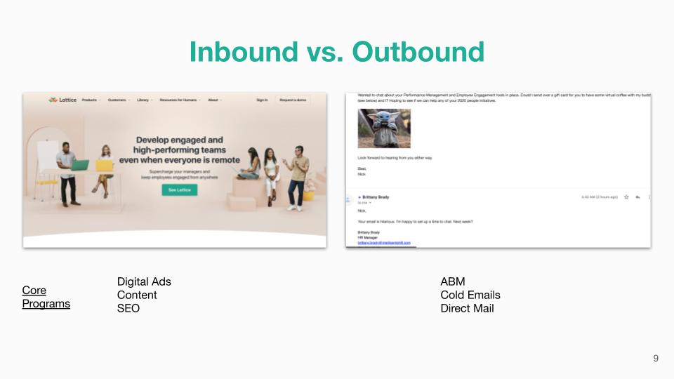 Inbound vs. Outbound