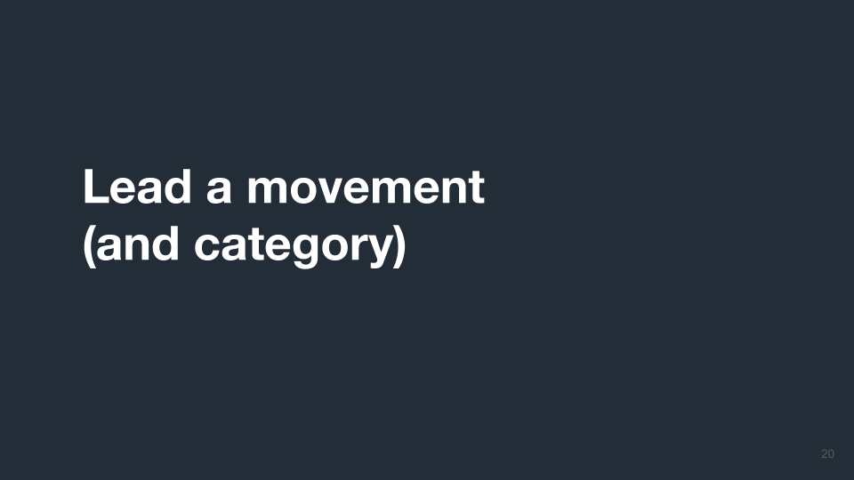 Movement and Category