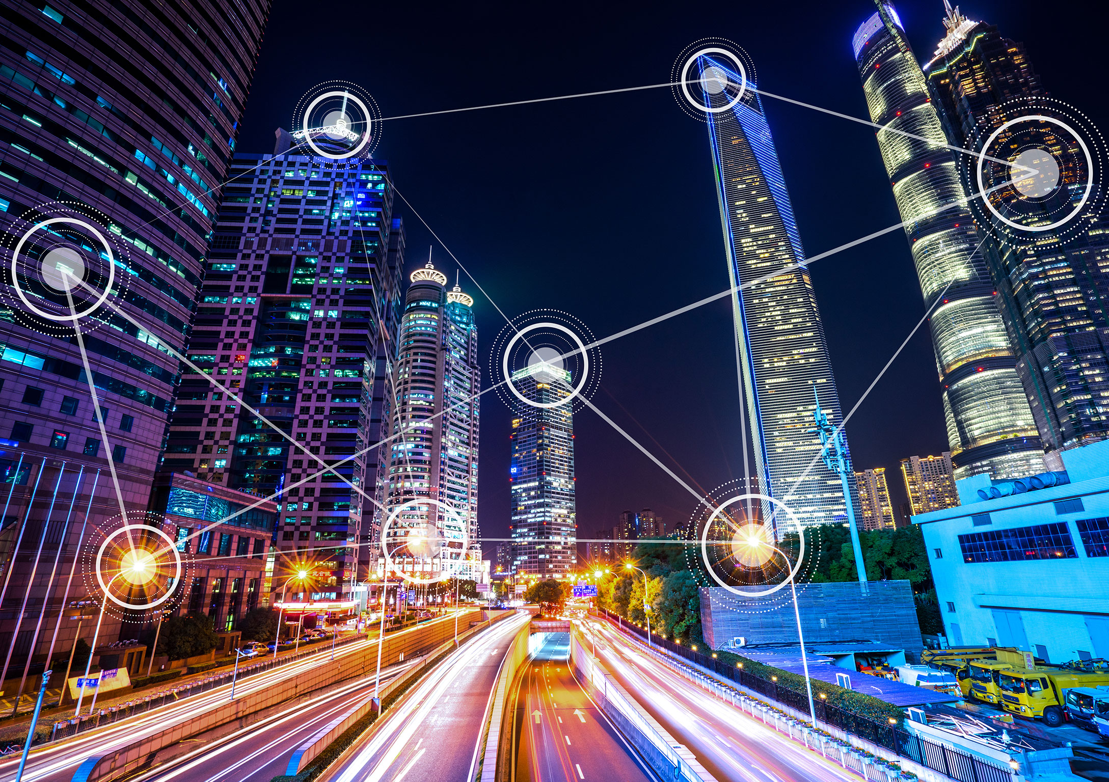 Futuristic smart city