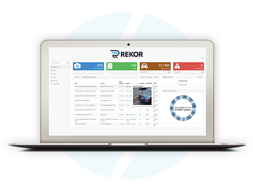 Rekor Watchman Vehicle Recognition Software