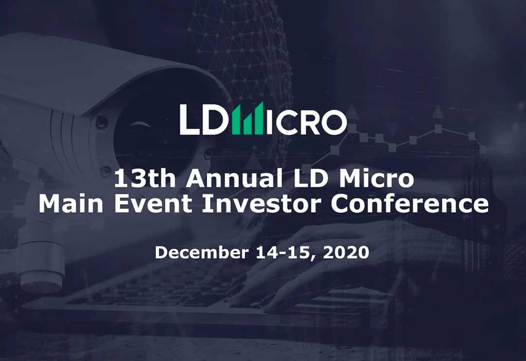 CEO Robert Berman to Address Investors at The 13th Annual LD Micro Main Event Conference