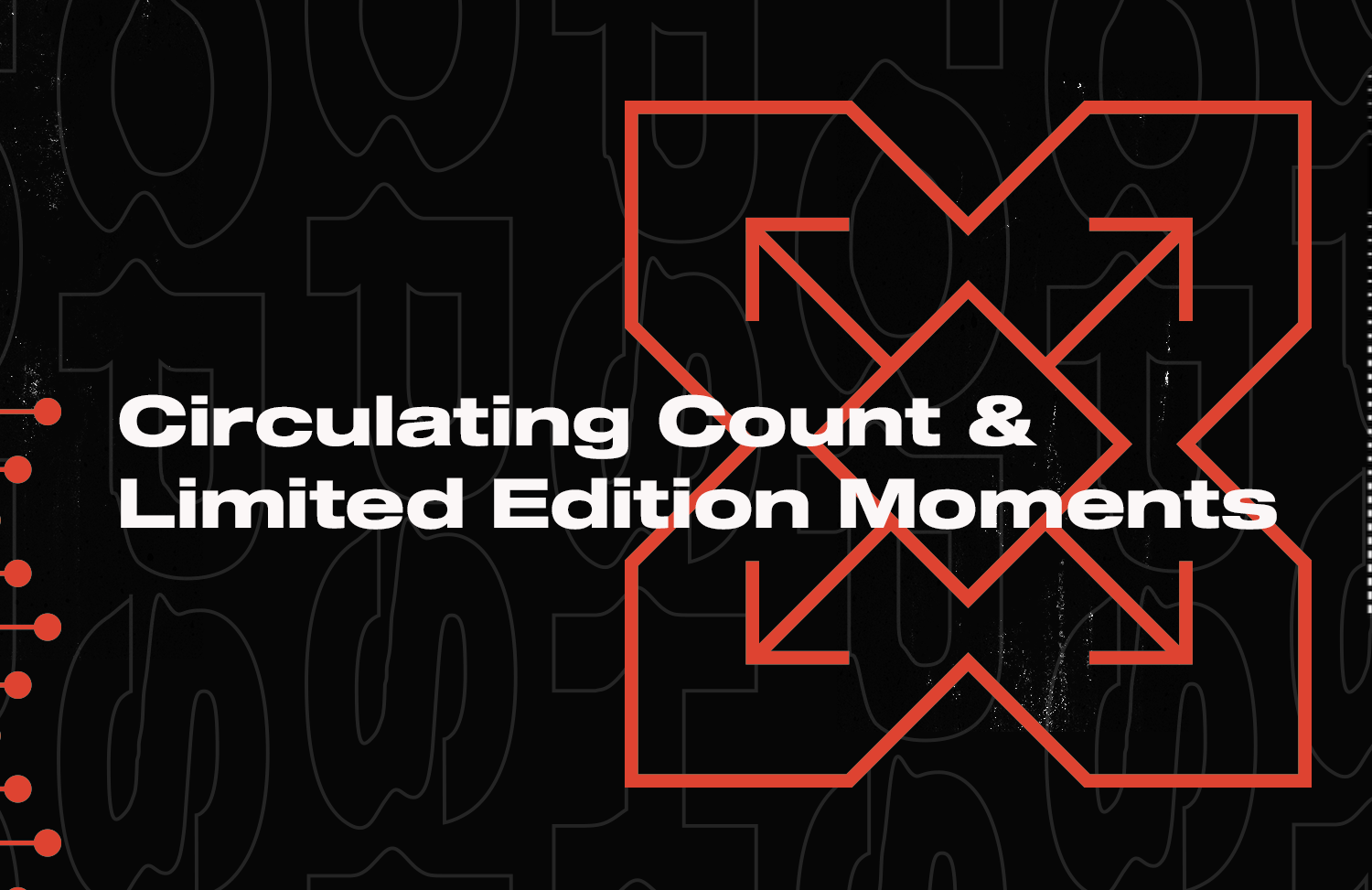 Some notes from the NBA Top Shot team about circulating count on certain Moments.