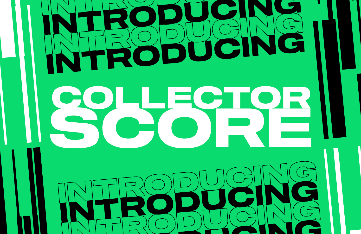 We're excited to share a new feature that we've been cooking up behind the scenes: Collector Score...