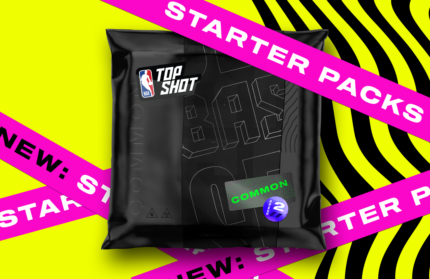 These packs are exclusive to new collectors. Snag your first pack today!
