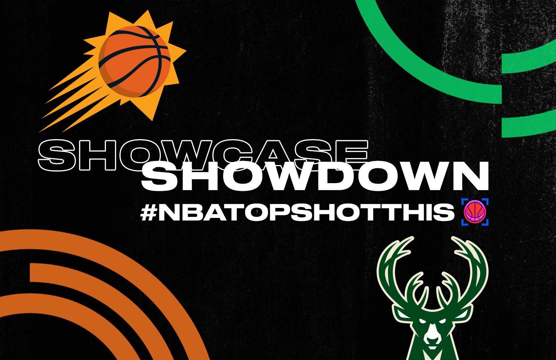 Bucks & Suns fans show off their Showcases ahead of the #NBAFinals.