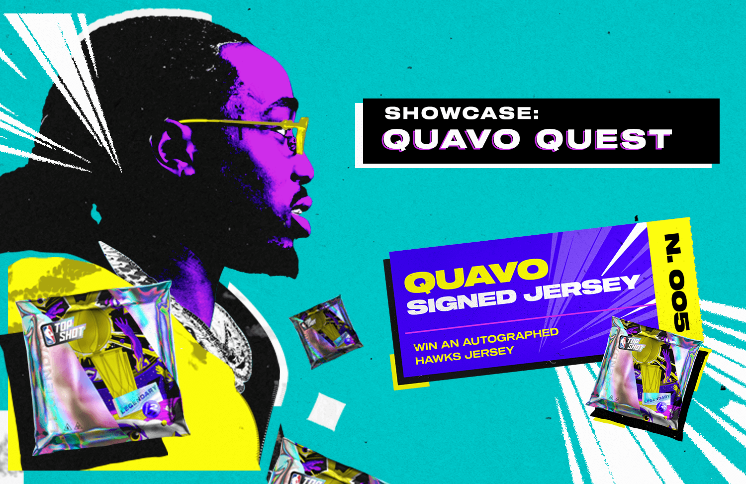 We've partnered with Quavo for a legendary giveaway leading into a legendary week.