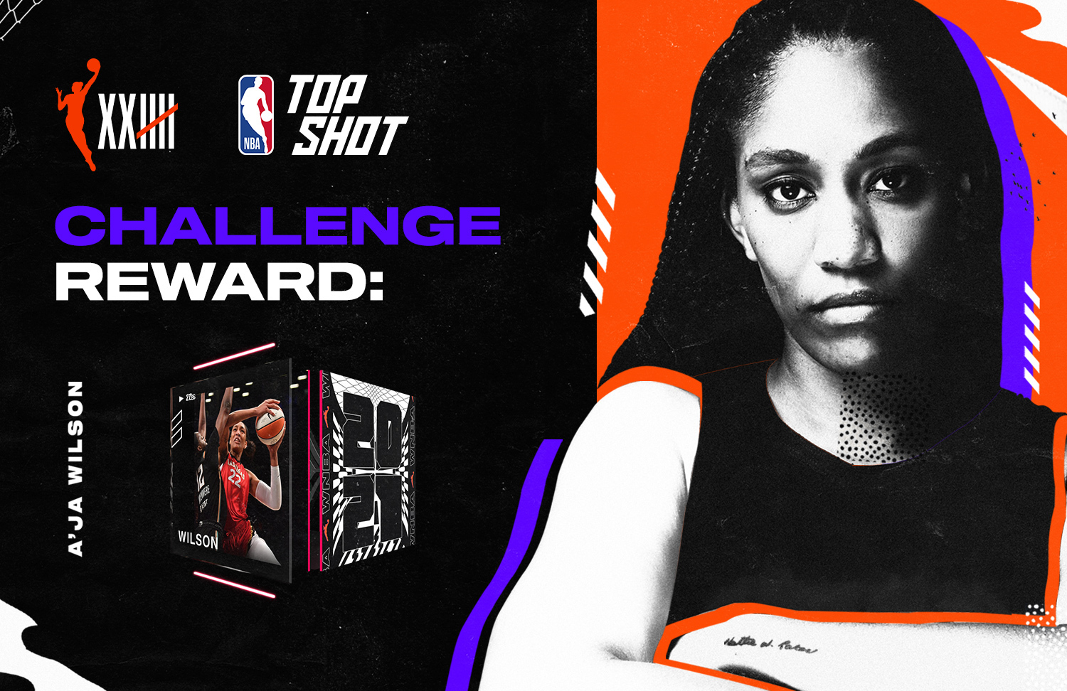 Collect any five WNBA Moments before Thursday, September 2 at 10am PDT to earn yourself a Fandom tier Moment from the reigning WNBA MVP.