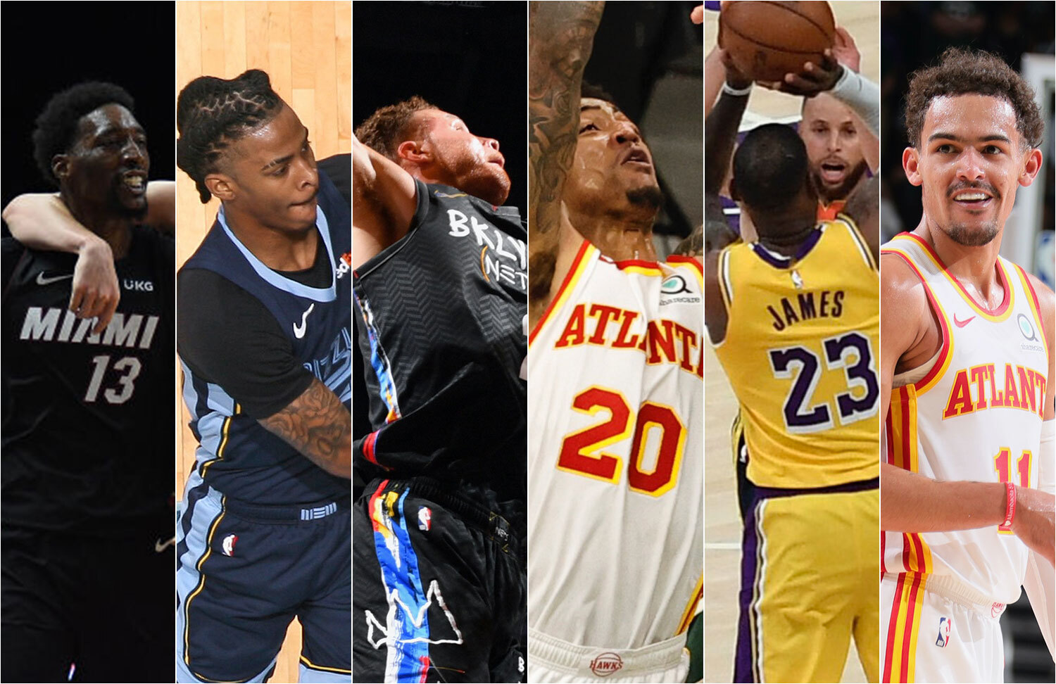 It's time for the next 20 plays in the NBA's countdown of the Top 100 plays of the 2020-21 season. Which ones you can find on Top Shot?
