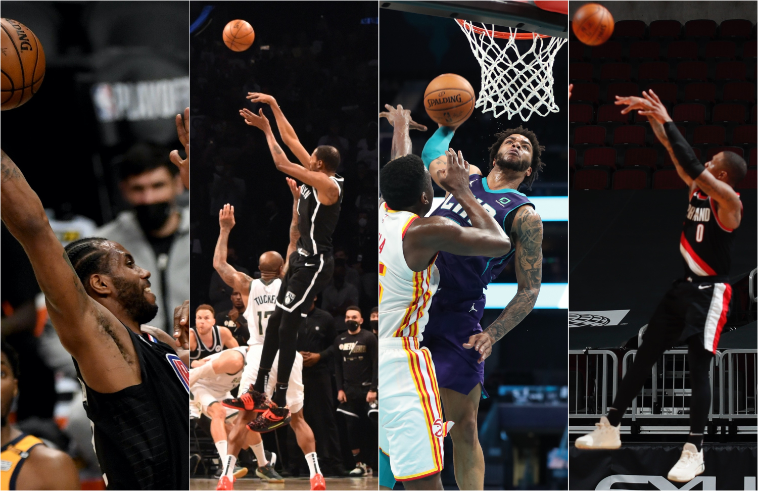 Ready for more awesome plays? It's the Top 10 of the NBA's Top 100 plays of the 2020-21 season.