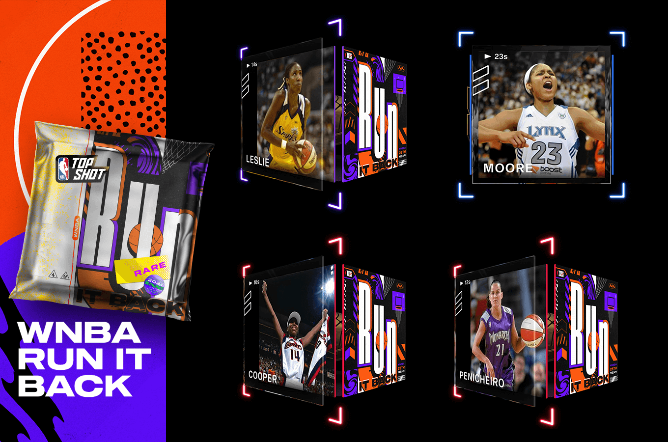 The 25 greatest players in WNBA history are about to have Moments on Top Shot. Find out what's ahead in the first-ever WNBA Rare Drop.