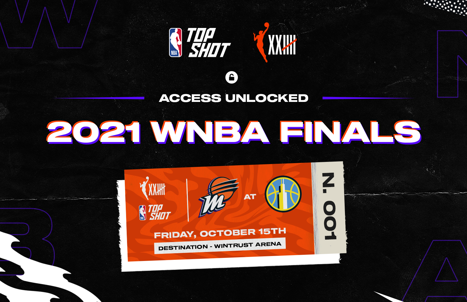 We are going to Game 3 of the WNBA Finals in Chicago and three collectors are coming with us!