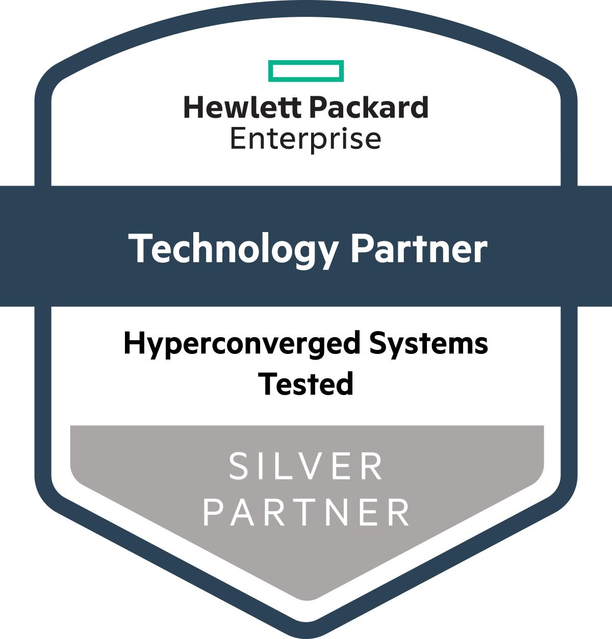 HPE Silver Partner badge