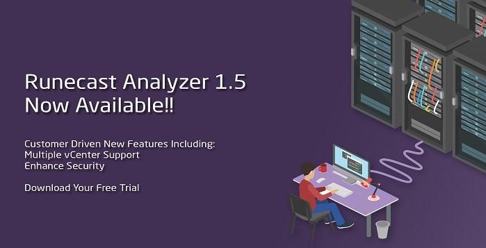Runecast Analyzer 1.5