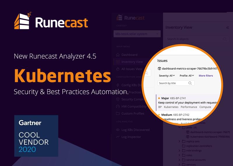 Runecast Analyzer - Kubernetes