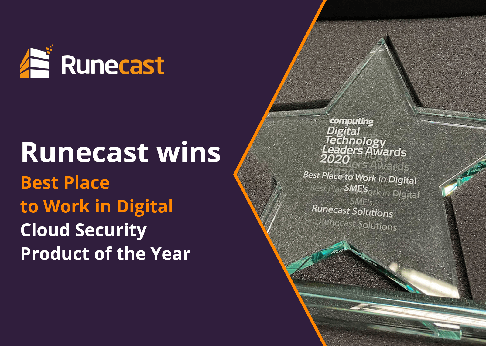 Runecest is Best Place to Work in Digital 2020
