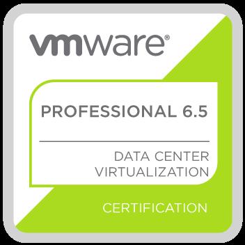 vmware professional 6.5 logo