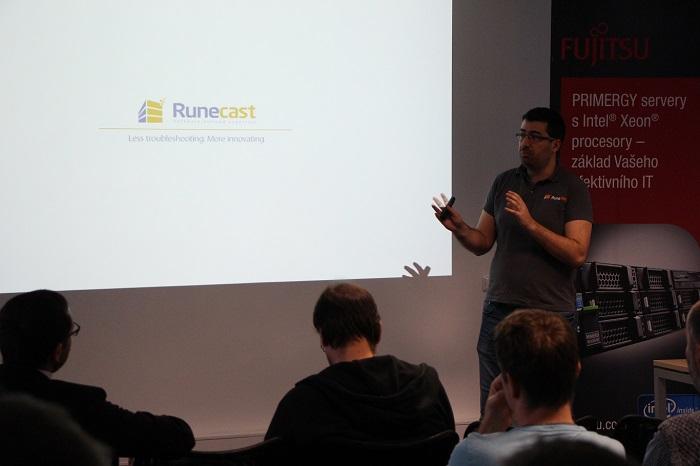 Stanimir Markov Presenting Runecast