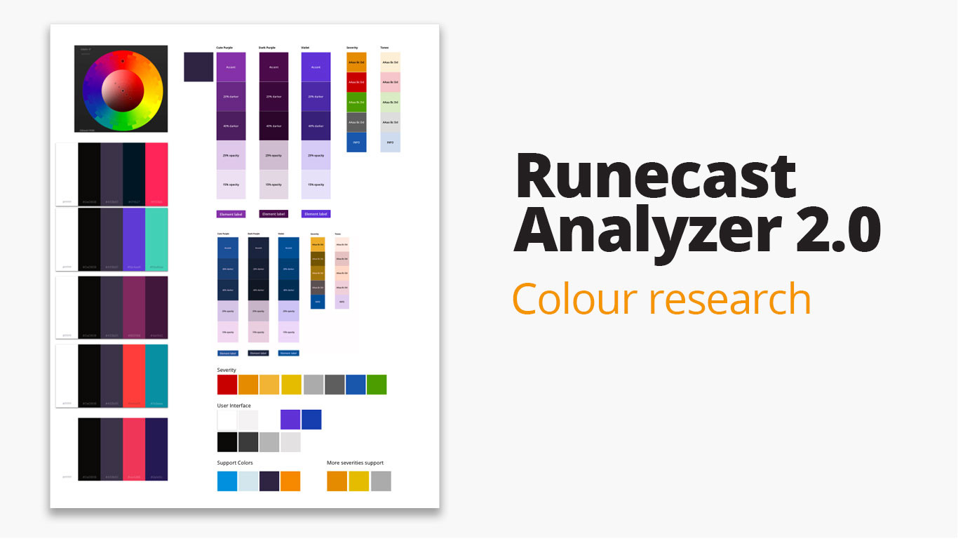 Runecast Analyzer 2.0  Colour research