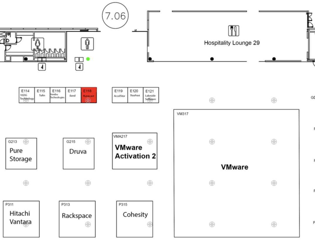 Runecast VMworld EU 2018 Booth E118