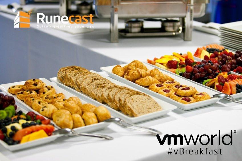 VMworld Europe 2018 breakfast