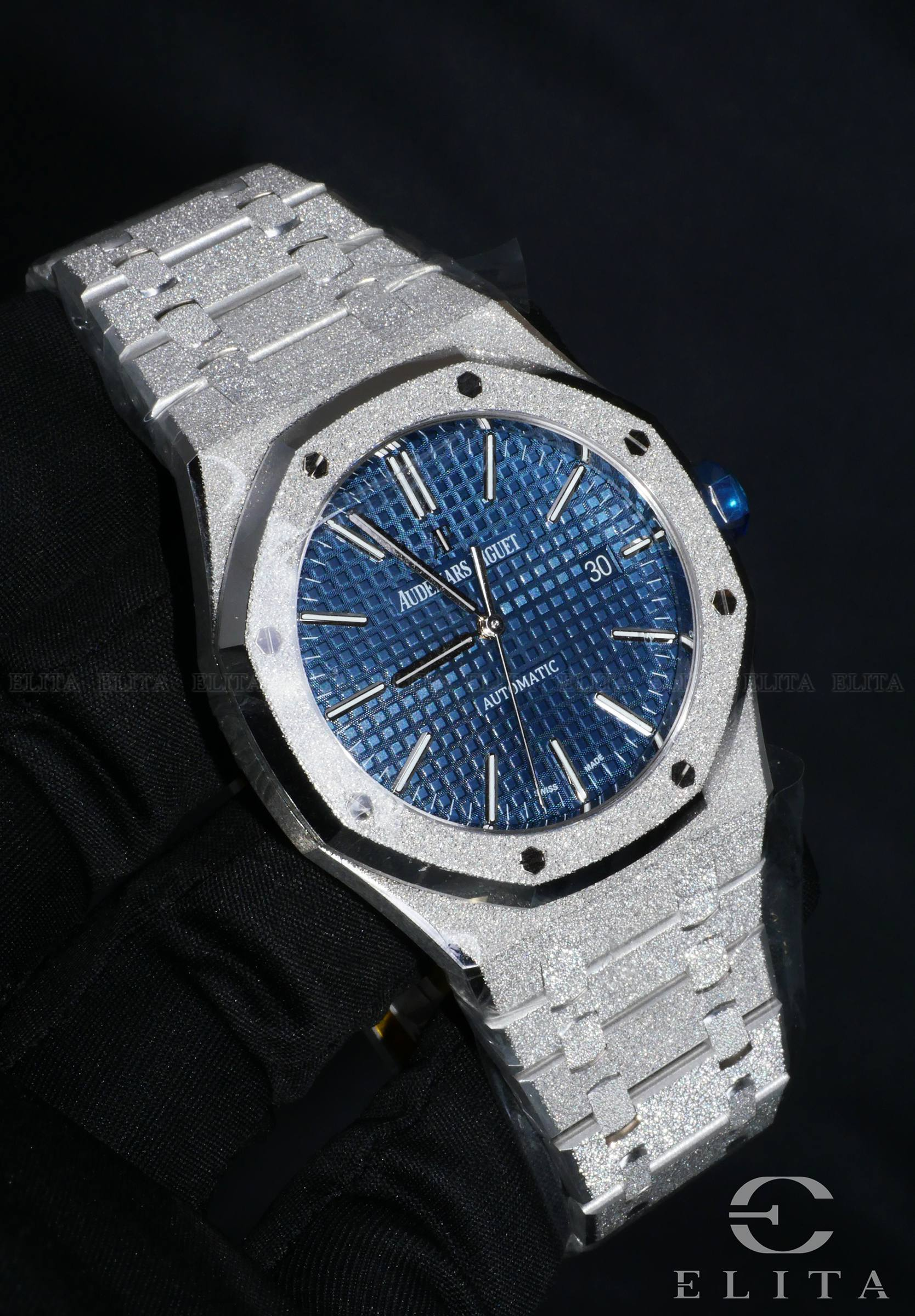 Royal Oak 15410BC.GG.1224BC.01 Frosted White Gold