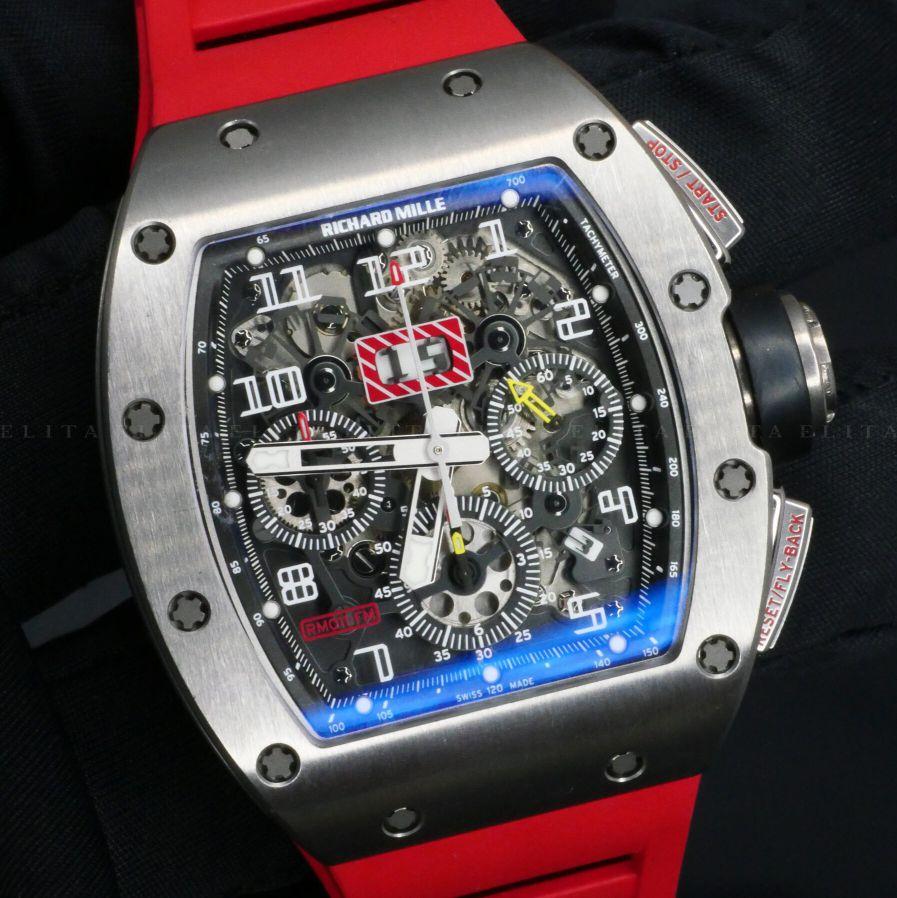 RM 11 FM Titanium Red