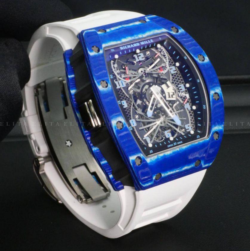 RM 022 Tourbillon Aerodyne NTPT Blue
