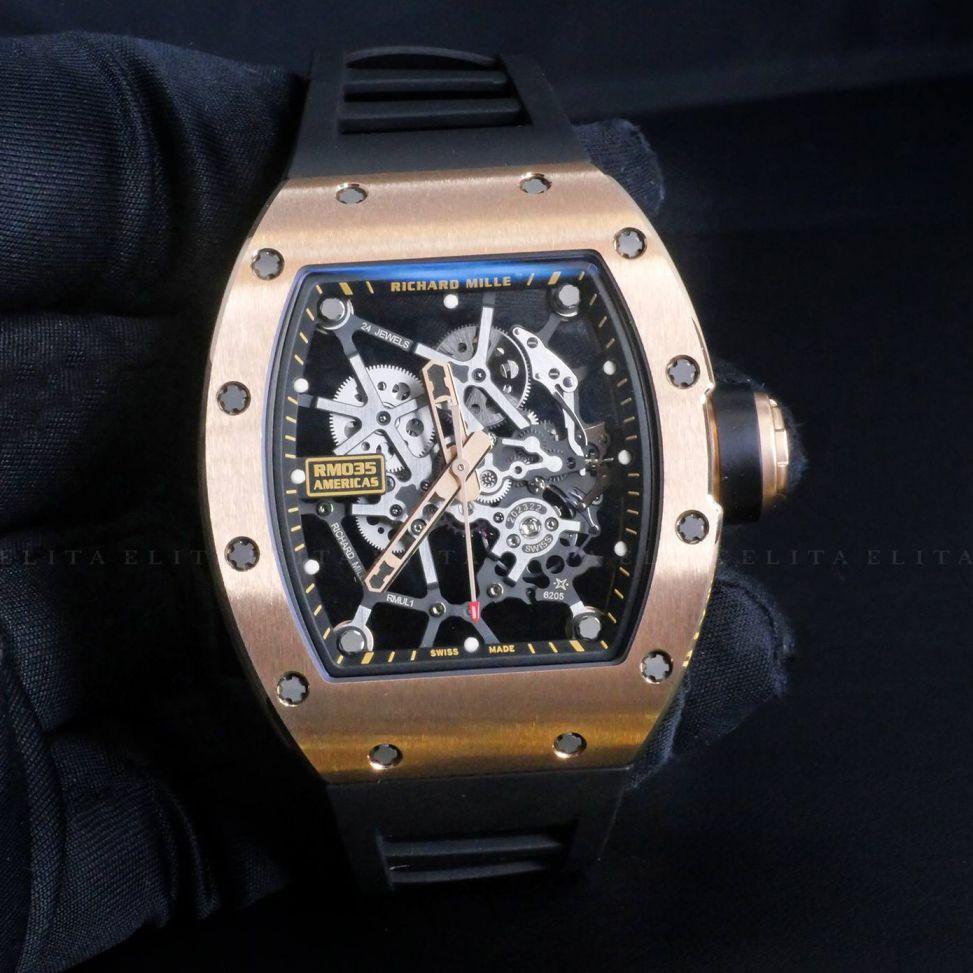 RM 035 AMERICAS Rose Gold Toro