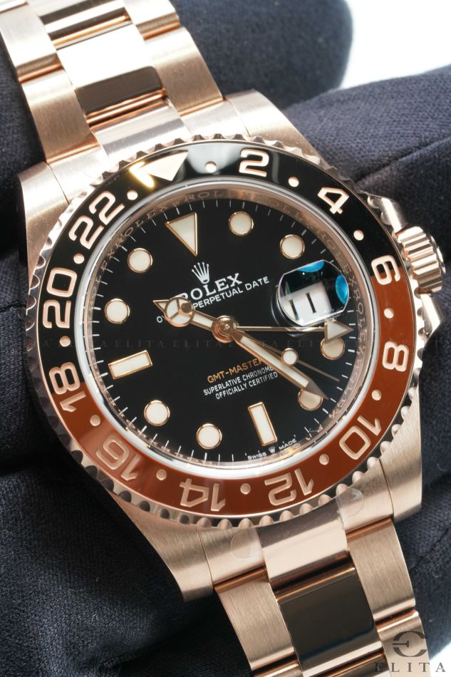 GMT-Master II 126711CHNR-0001 Root Beer Everose Gold