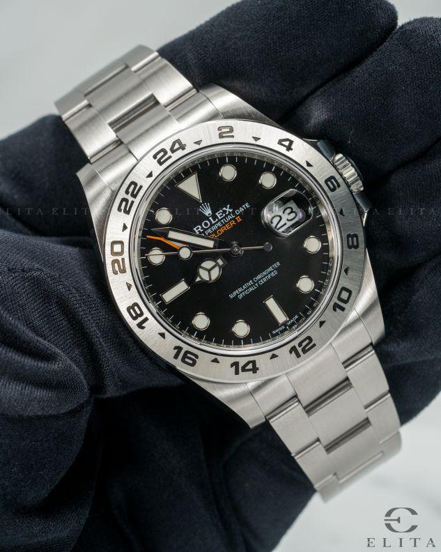 Explorer II 216570-0002 Black Dial
