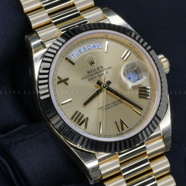 Day-Date 40 228238-0006 Champagne Dial