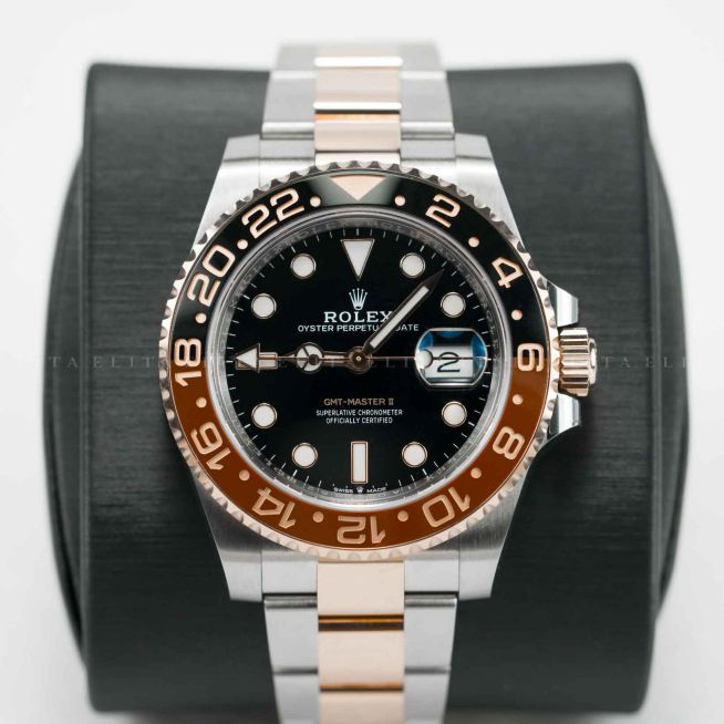 GMT-Master II 126711CHNR-0002 Root Beer Oystersteel and Rose Gold