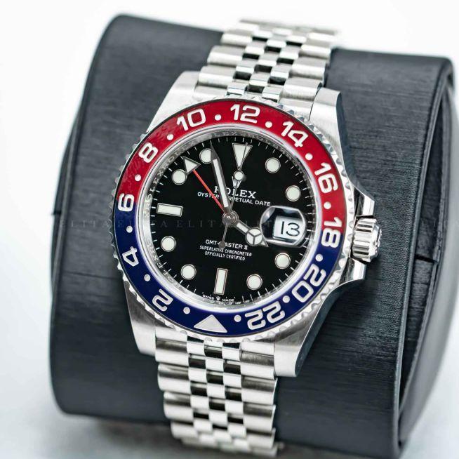GMT-MASTER II 126710BLRO-0001 Pepsi