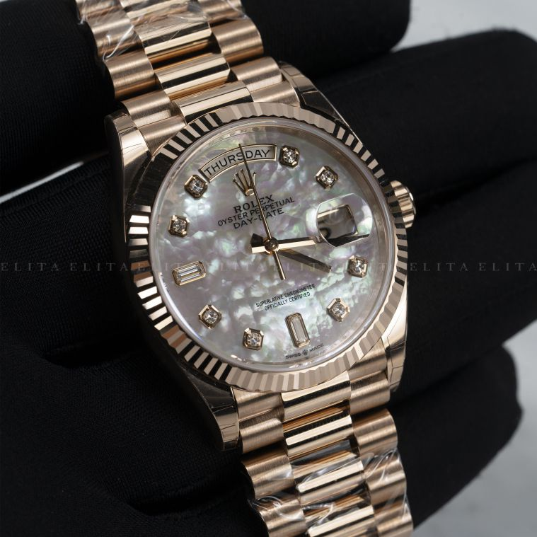 Day-Date 36 128235-0029 Everose Gold
