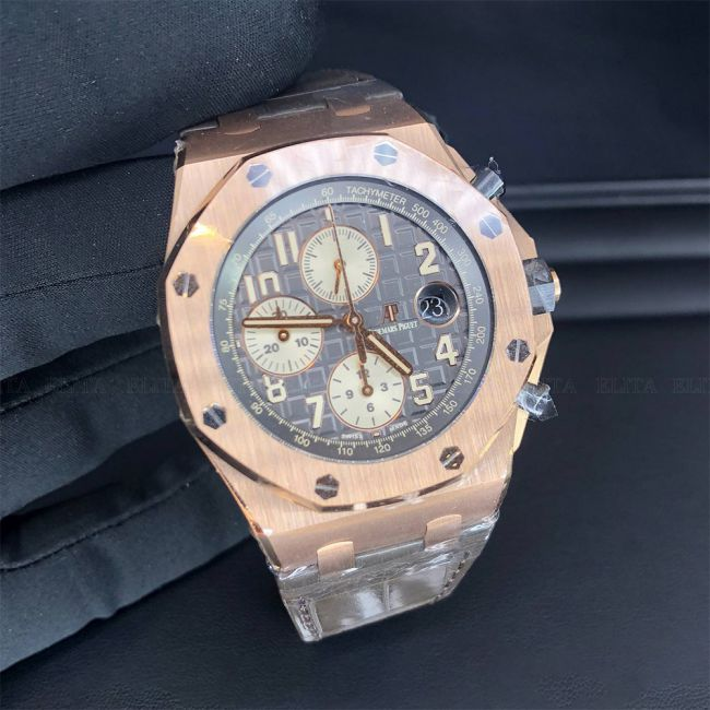 Royal Oak Offshore 26470ORA125CR 01 Rose Gold