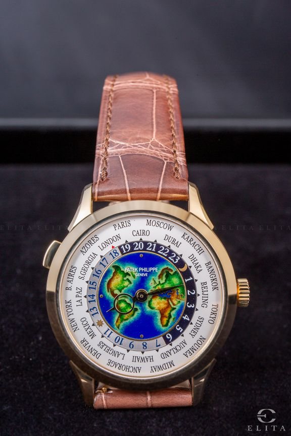 Complications World Time 5231J Yellow Gold