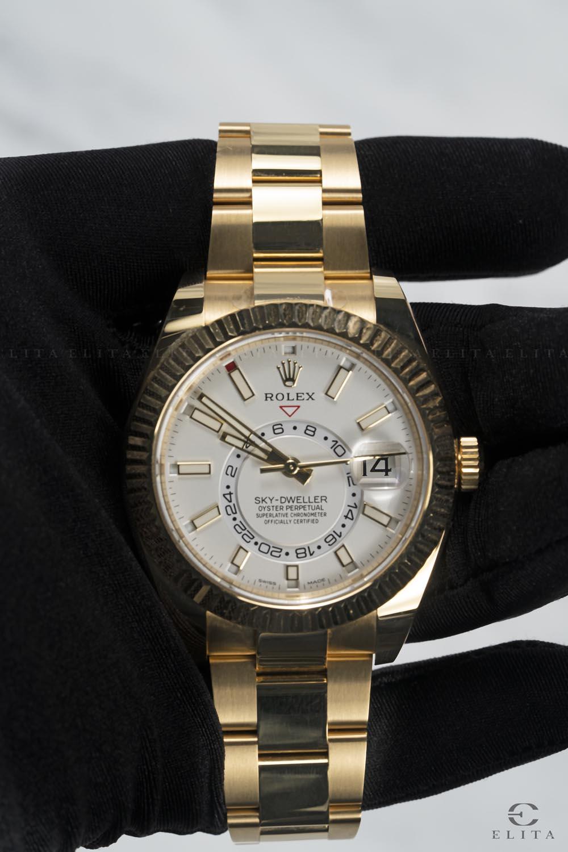 Sky-Dweller 326938-0005 18 Ct Yellow Gold