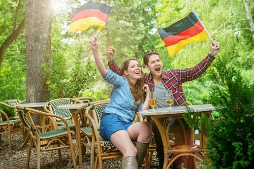 Friendly German People