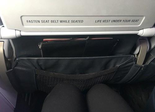 Cramped Plane Seat