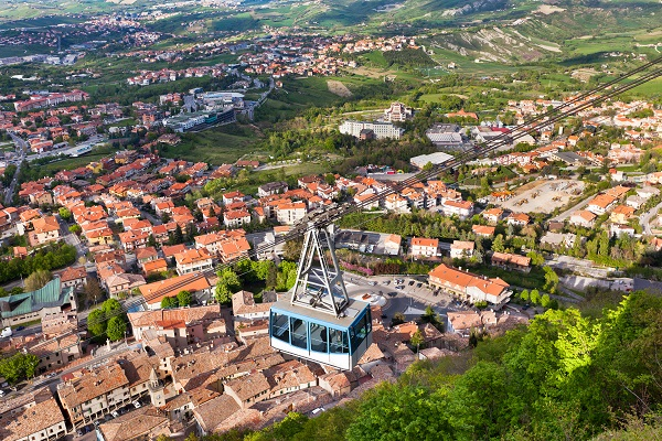 Cable Car San Marino