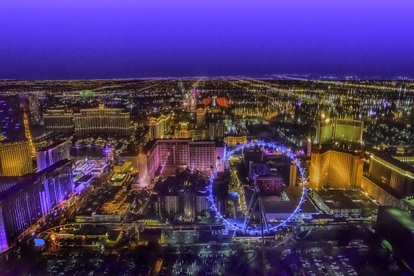 Las Vegas High Roller Wheel