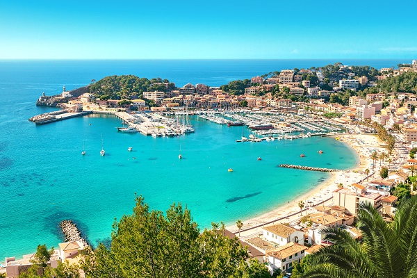 Port De Soller Beach Mallorca