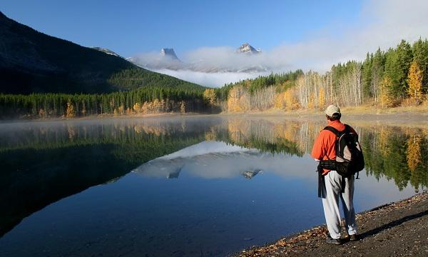 Walking In The Rockies