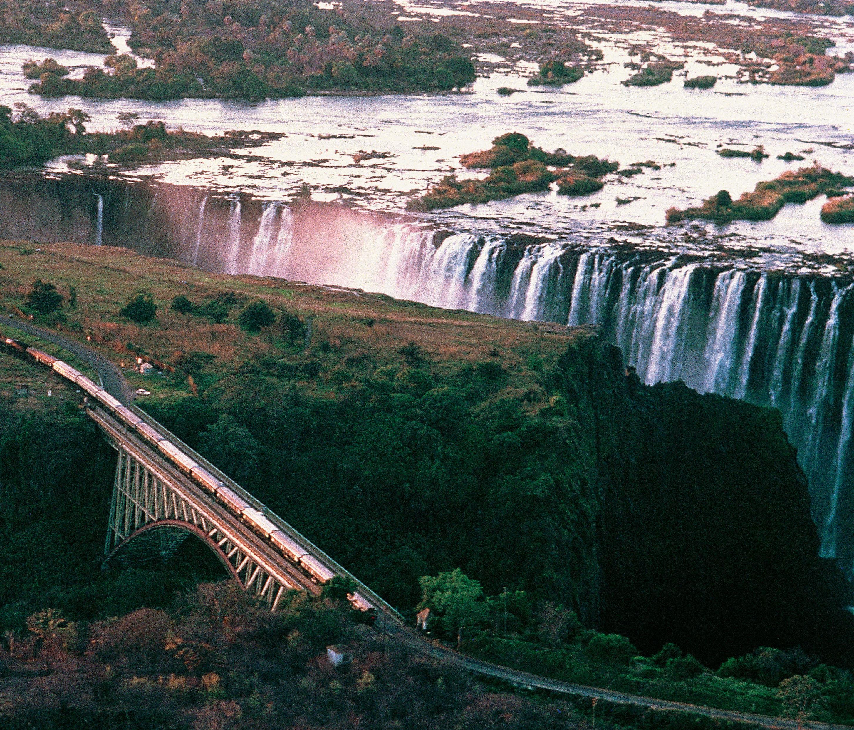 Rovos Rail Victoria Falls