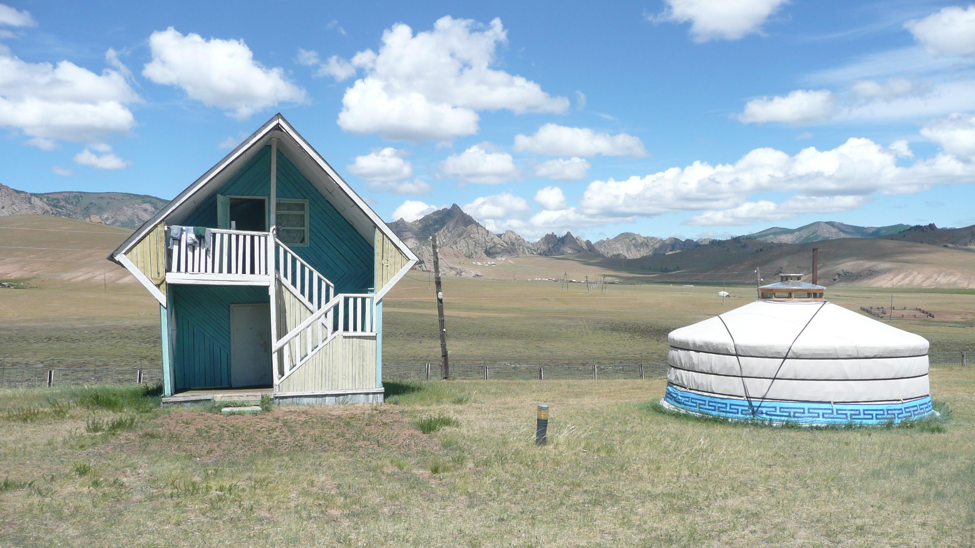 Ger Camp, Mongolia