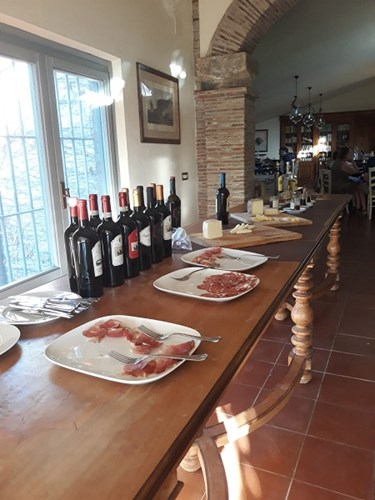 Wine and Cold Meats