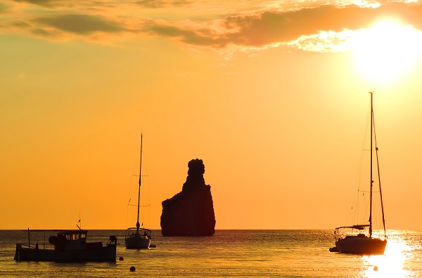 Benirras Beach Sunset Ibiza
