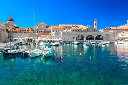 City Harbor in Dubrovnik